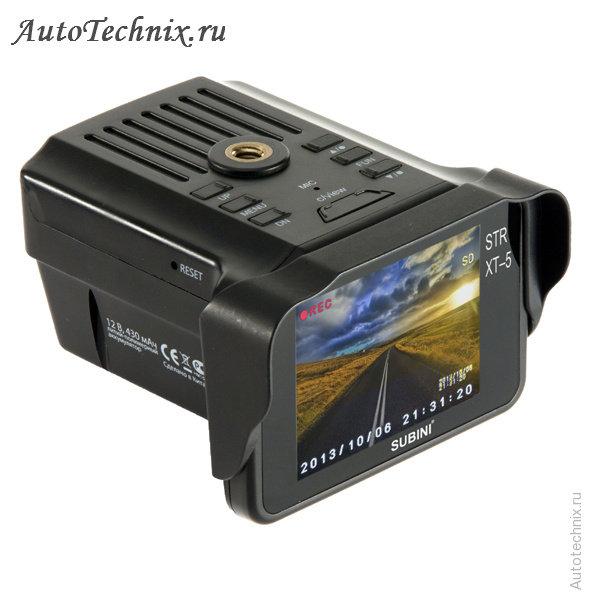 Видеорегистратор subini str-xt-5 отзывы 3-х канальный видеорегистратор